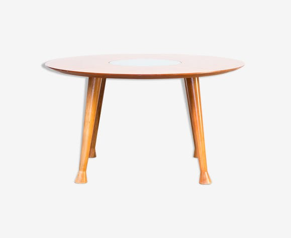Round dining table on feet 90