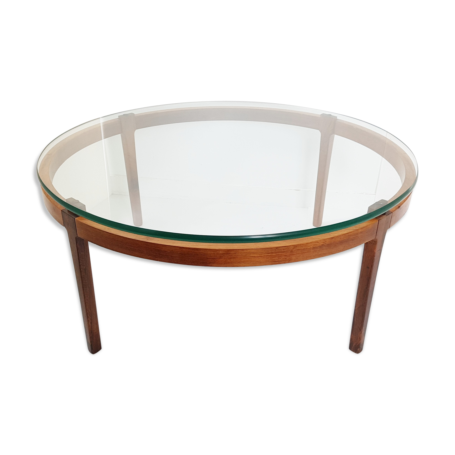 table-basse-ronde-scandinave-en-teck-palissandre-1960_original Incroyable De Table Basse Palissandre Schème