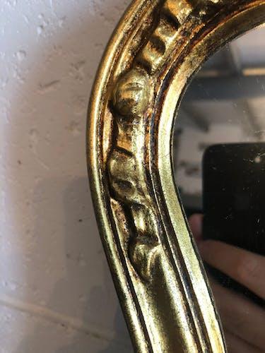 Miroir doré - 37x59cm