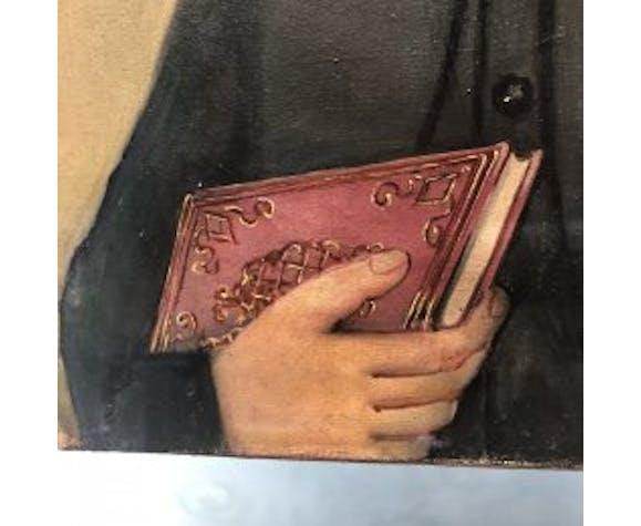 Tableau portrait d'Emile Gentil 1869