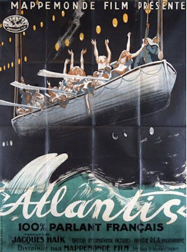 Affiche cinéma Atlantis