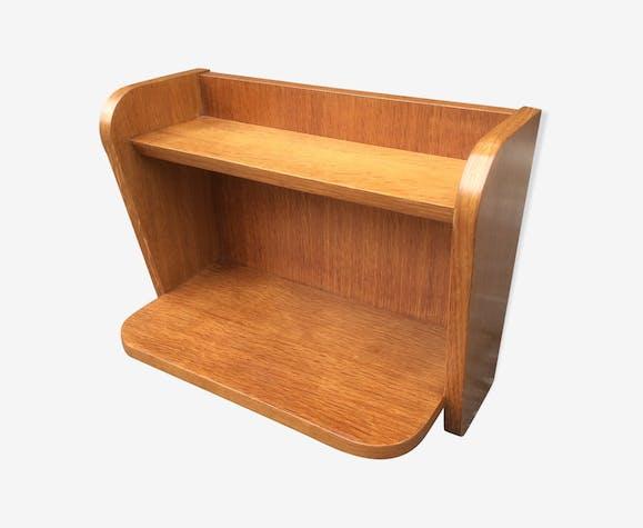 chevet 1950 en ch ne suspendre poque reconstruction. Black Bedroom Furniture Sets. Home Design Ideas