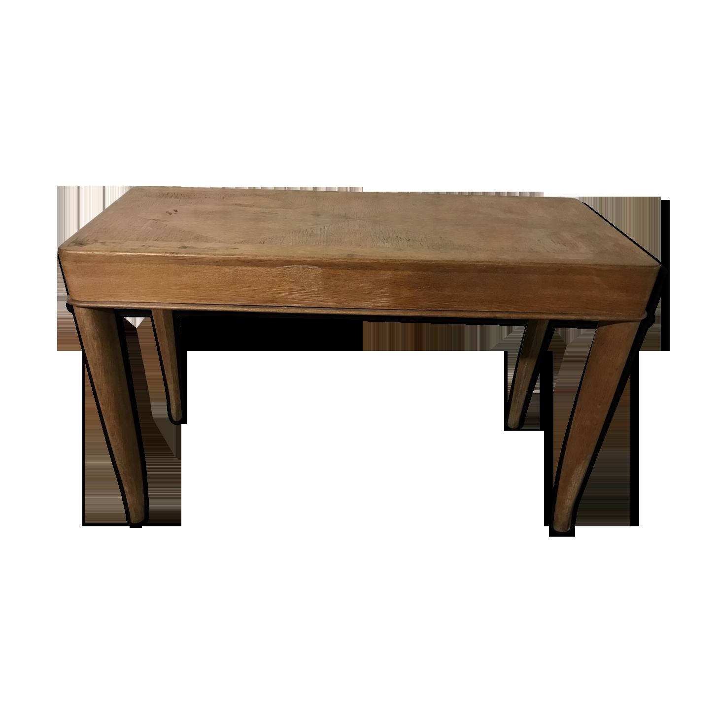 L*W*H Marron Console /à 2/tiroirs en ch/êne Massif Dimensions : 83 x 30 x 73 cm