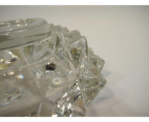 Cendrier en verre vintage