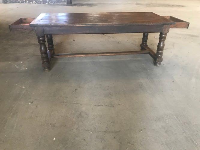 Farm table Louis XIII, 19th