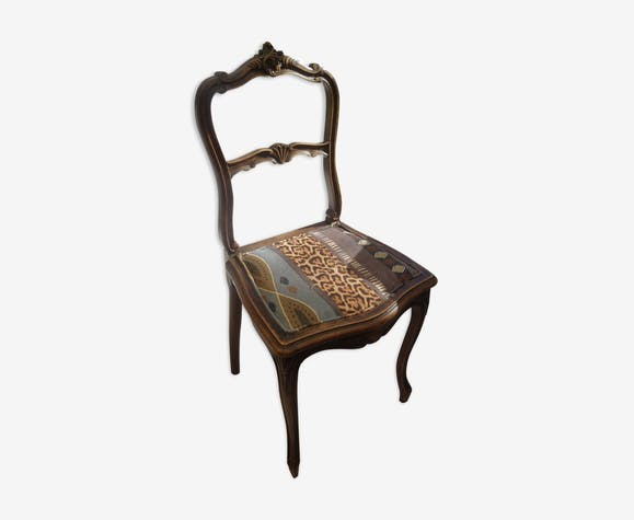 Chaise Louis XV Rocaille