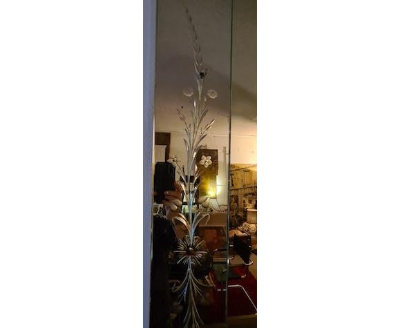 Miroir vénitien des années 50 135 x 101 cm