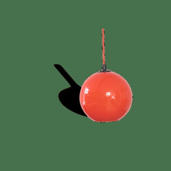 vintage lustre suspension grand globe diam tre 25 cm en. Black Bedroom Furniture Sets. Home Design Ideas