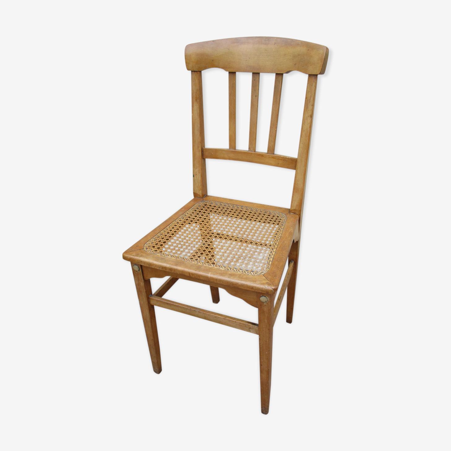 Chaise bistrot cannée stella avec signature