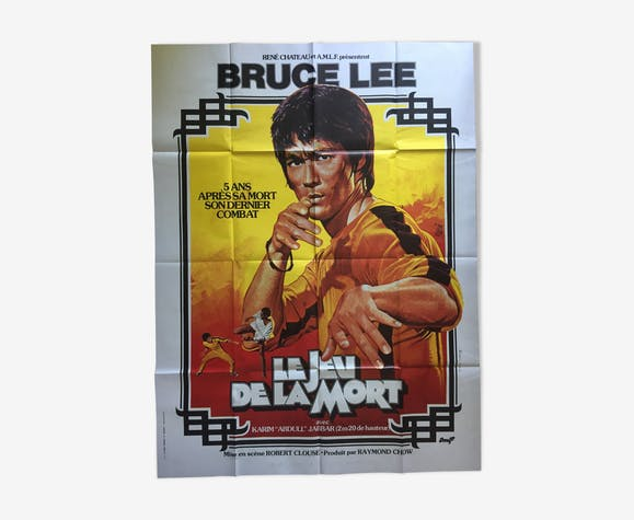"""Movie poster """"The Game of Death"""" Bruce Lee 120x160cm 1978"""