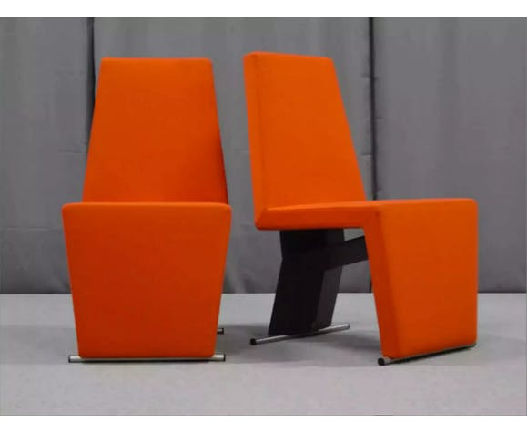 Pair of armchairs, 1970