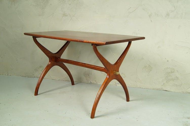 Tall Mid-century Swedish coffee table, 1960s