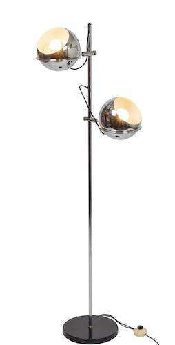 Lampadaire chromée Gepo