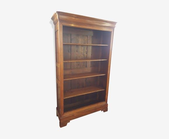biblioth que ancienne style louis philippe du xix me bois mat riau bois couleur. Black Bedroom Furniture Sets. Home Design Ideas