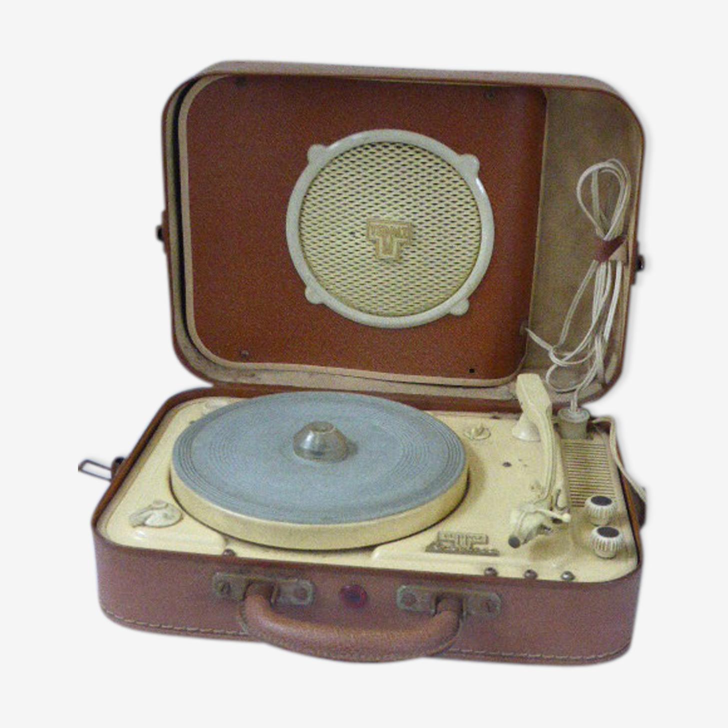 Electrophone portatif Teppaz Présence vintage 1955