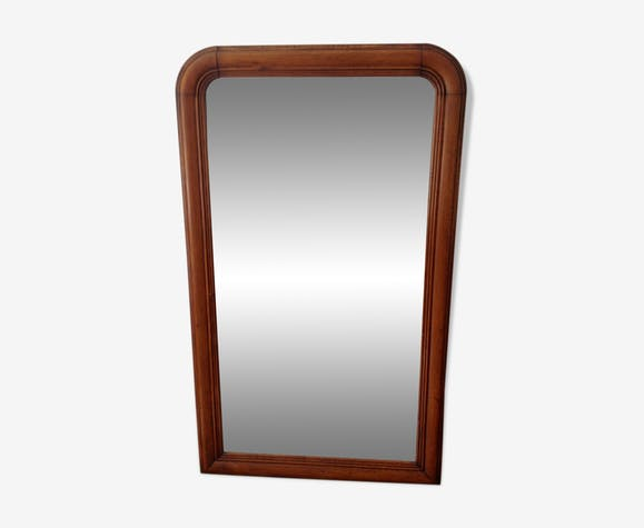 Large Louis-Philippe mirror 150 x 88 cm