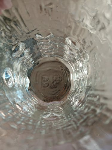 Lot de 6 verres BP
