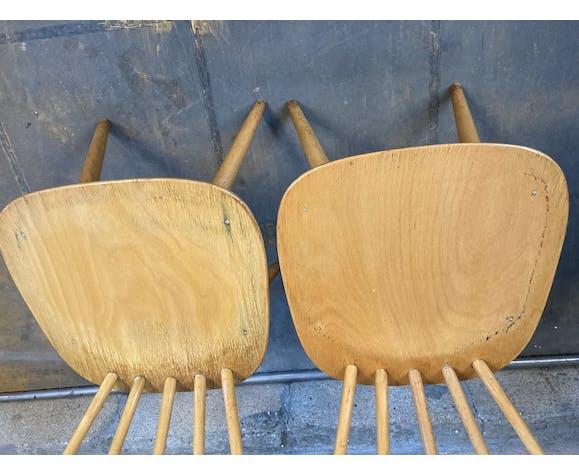 Anciennes chaises scandinave des années 50