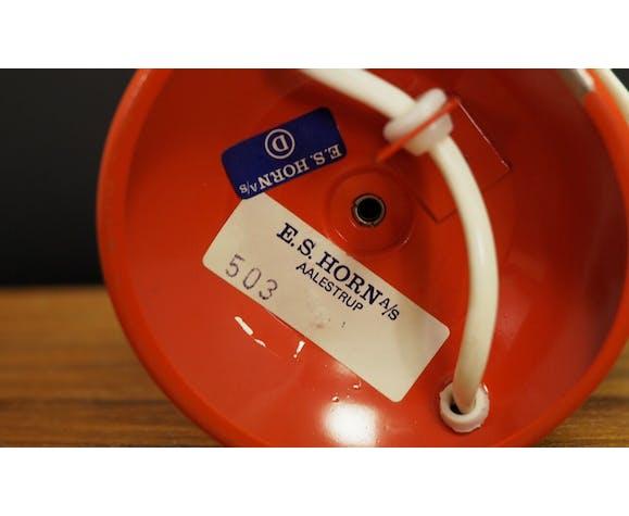 Lampe  des années 60/ 70, modèle 503 de l'atelier E.S. Horn