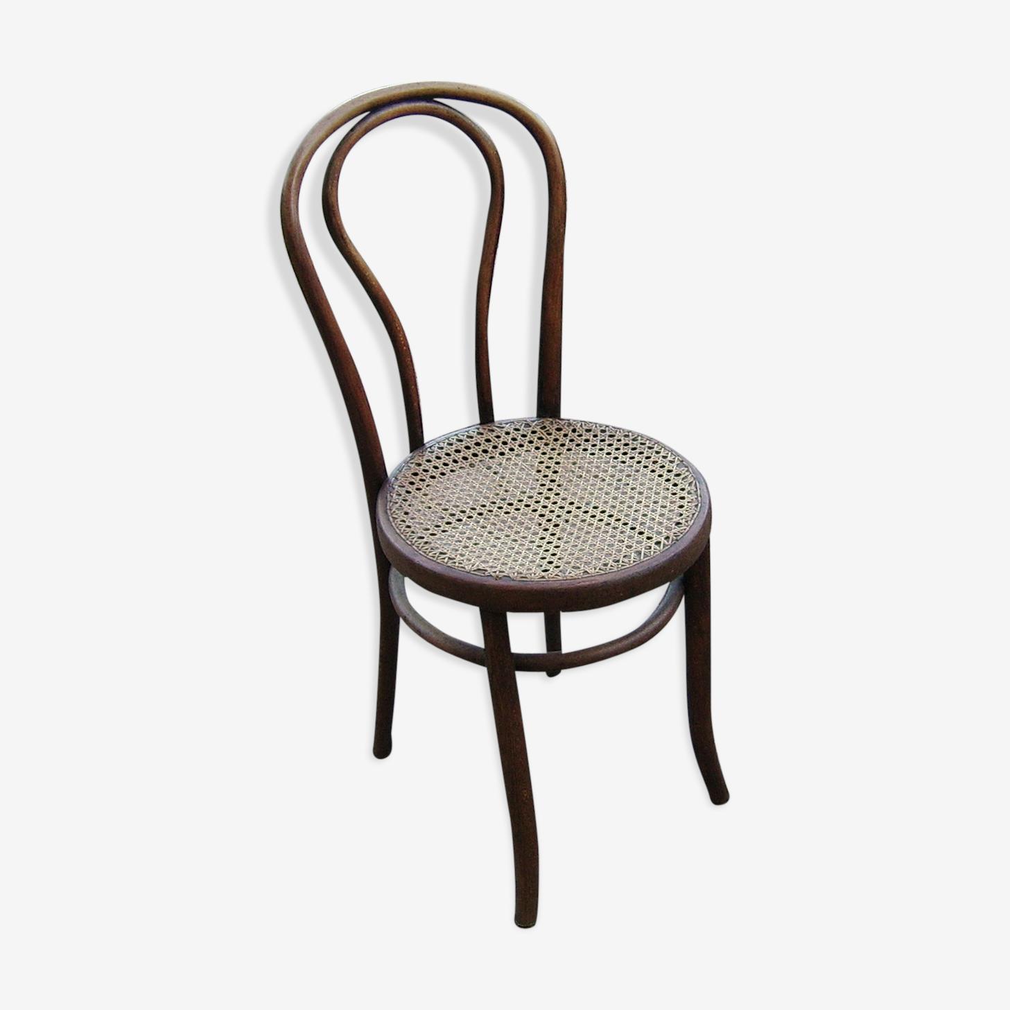 Chaise de bistrot en bois Fischel