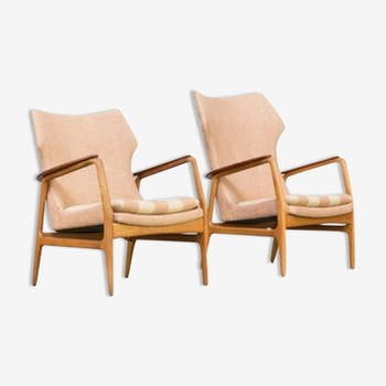 Pair of chairs Axel Bender Madsen of the 1960s for whole Bovenkamp