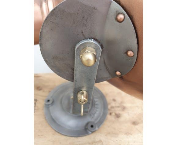 Projecteur industriel Holophane corps en cuivre lampe industrielle design vintage