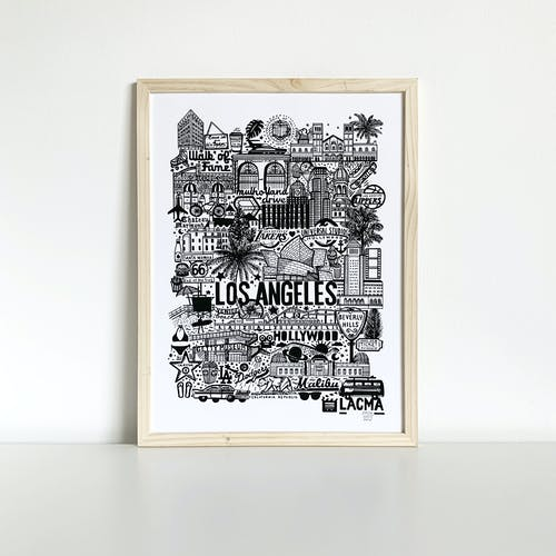 Sérigraphie Los Angeles