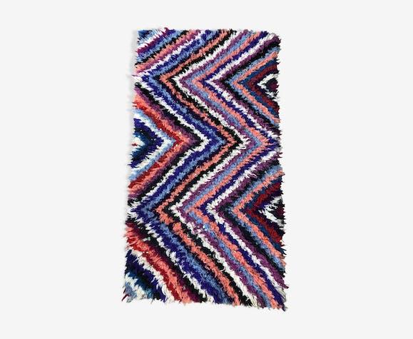 Moroccan Berber carpet Beni Ouarain vintage 1, 69x0, 87m