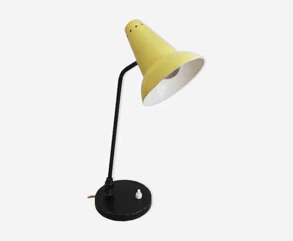De 66coamj Chevet Vintage Lampe Jaune Métal xtsQrChd
