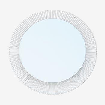 Zeit-Form 1960 vintage backlit mirror 70x70cm
