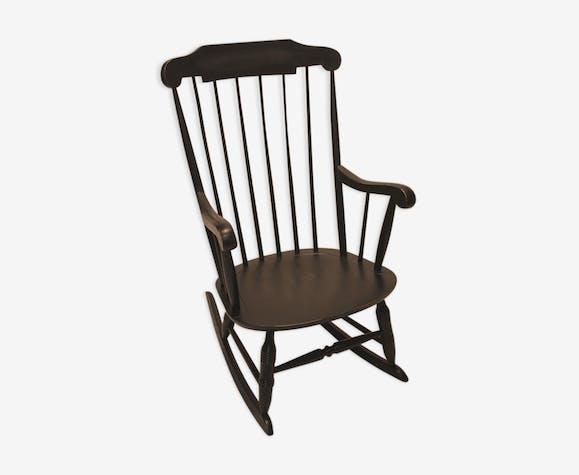 Rocking chair Stol Kamnik noir