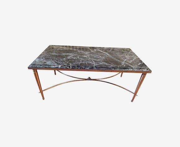 Table Basse Avec Plateau En Marbre Vert Marbre Vert Classique