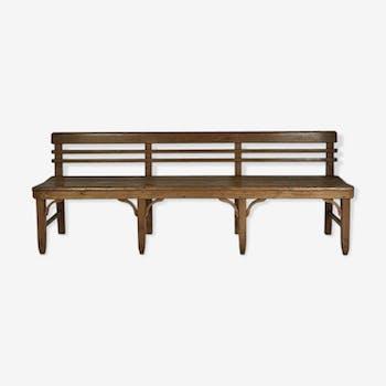 Vintage bench 50's Solid Wood