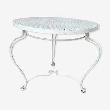 Table basse de jardin en métal
