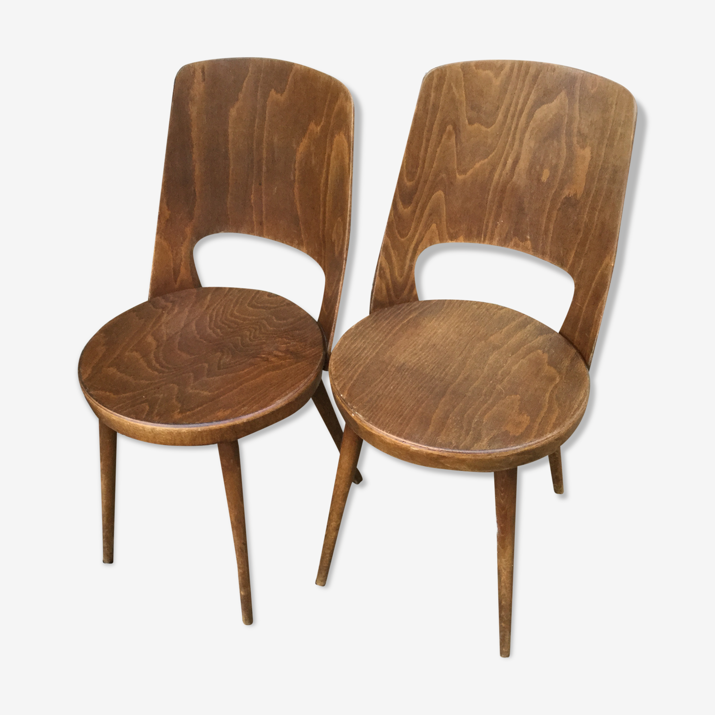 Pair of chairs Baumann Mondor
