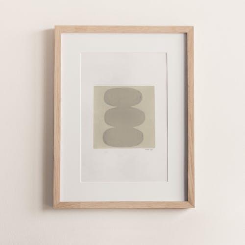 Peinture sur papier, illustration abstraite