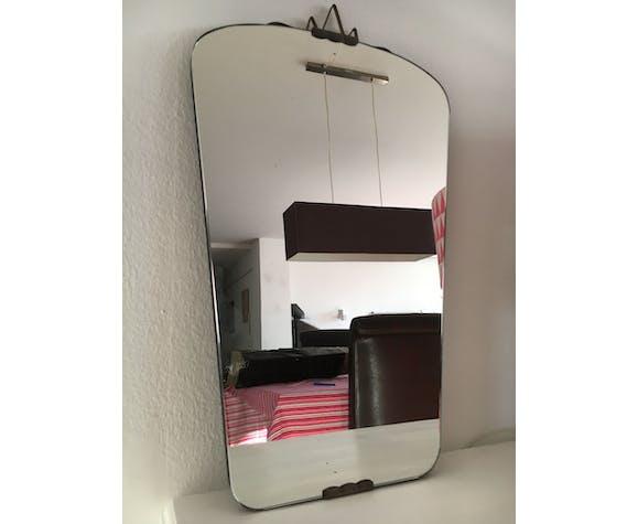 Mirror vintage with crown 53 x 33 cm