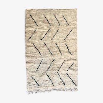 Moroccan berber carpet Beni Ouarain 2,35x1.51m
