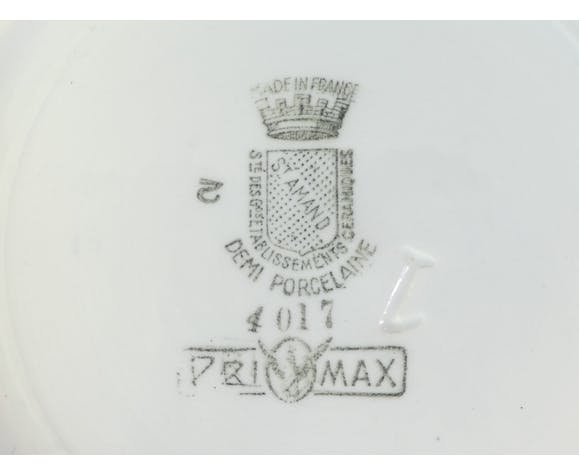 Soupiere en faience de St Amand Privamax