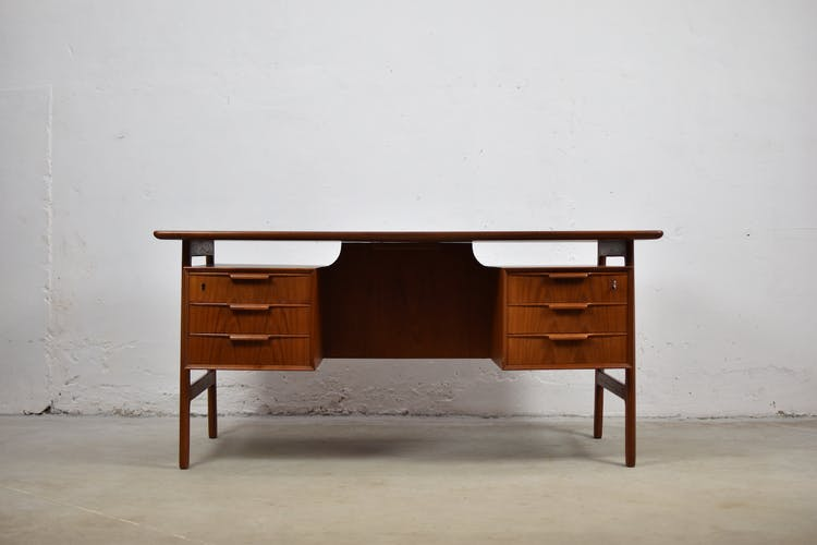 Writing desk by Gunni Omann for Omann Jun Mobelfabrik, Denmark 1960's