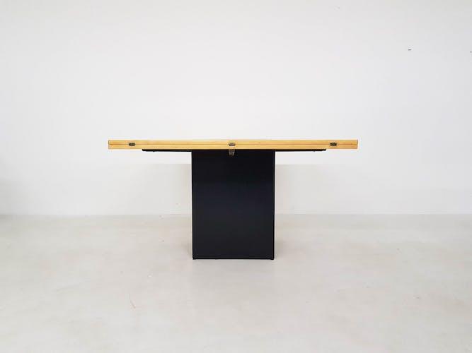 Table à manger «Cirkante» de Dries en Bob Vanden Berghe pour Tranekaer, Danemark 1976