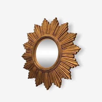 Mirror convex Sun resin.