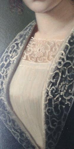 Portrait de femme XIXème