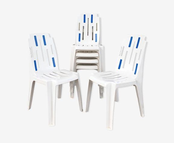 Set de 6 chaises «samba» Pierre Paulin pour Henri  Massonnet