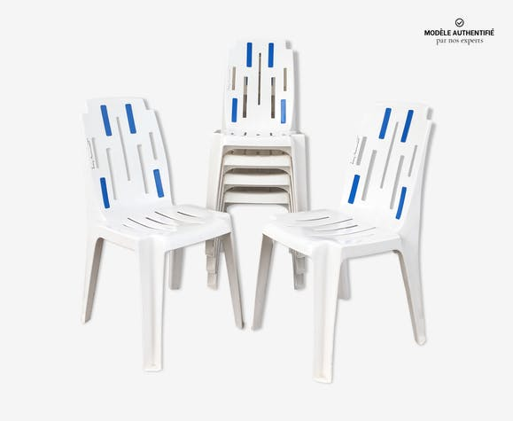 de chaises pour Henri samba « » Set Pierre 6 Paulin qUzMVpGS