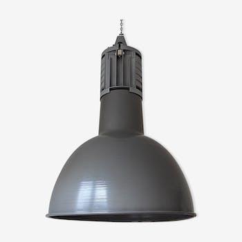 Industrial workshop in steel and aluminium lamp