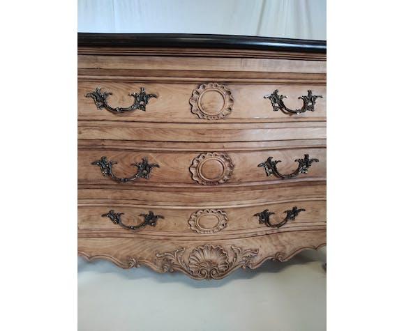 Commode bordelaise de style Louis XV relookée