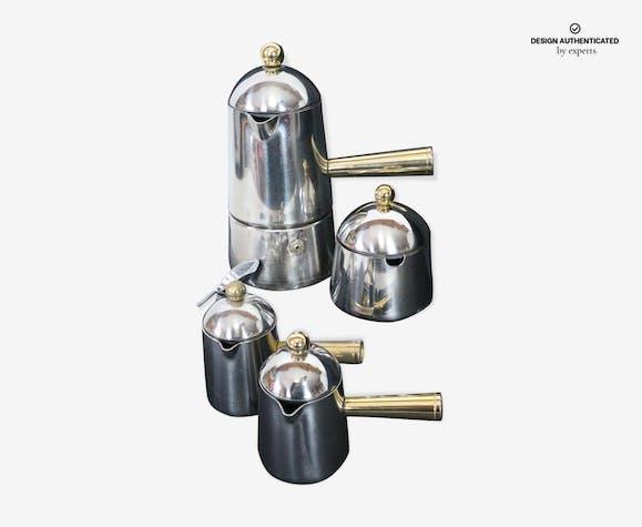 Four Mokacoffee Maker Carmencita Design Marco Zanuso For