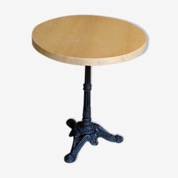Table de salle manger vintage d 39 occasion for Table ronde en chene