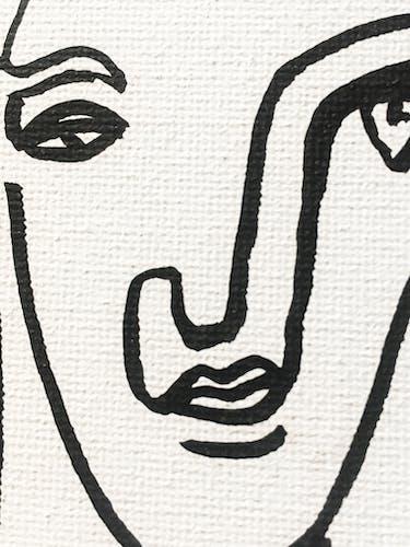 Portrait #9 20x25cm